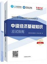 """2018年经济师《中级经济基础知识》""""梦想成真""""系列两册通关"""