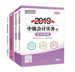 """2019中级会计职称""""梦想成真""""辅导书-指南+题解+教材"""