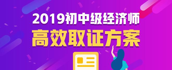 2019年经济师网上辅导火爆热招